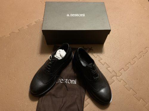 A testoni 革靴